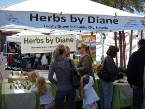 Post image for Dice Tomatoes:  Herbs By Diane – Not Attneding Any Farmers Market Week Of May 17, 2011